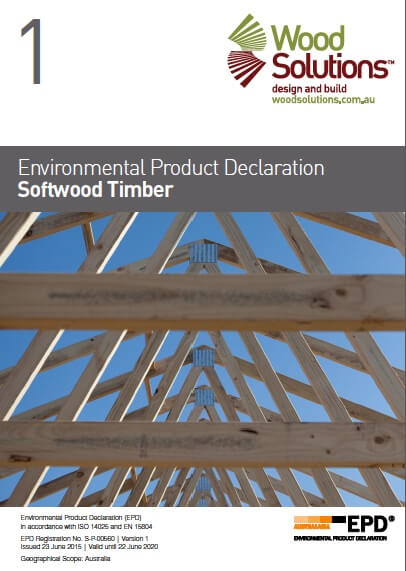 Environmental Product Declaration: Softwood Timber