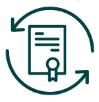 renew certificate icon